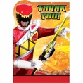 Power Rangers Thank You Notes
