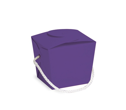 Purple Party Favor Pail
