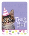 Purr-ty Time! Thank You Cards