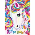 Rainbow Majesty by Lisa Frank Invitations