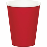 Red 9 oz Hot/Cold Cups