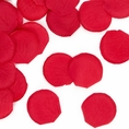 Red Rose Petal Confetti