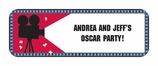 REEL Hollywood Giant Party Banner With Stickers