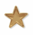 REEL Hollywood Gold Star Shaped Serving Tray