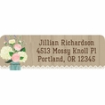 Rustic Bridal Shower Custom Address Labels