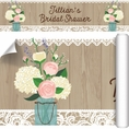 Rustic Bridal Shower Custom Banner