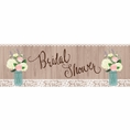 Rustic Wedding Bridal Shower Banner