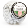 Rustic Wedding Custom Candy Jars