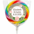 Rustic Wedding Custom Lollipops