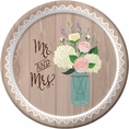 Rustic Wedding Dessert Plates