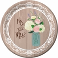 Rustic Wedding Plates