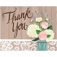 Rustic Wedding Thank You Notes