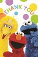 Sesame Street Postcard Thank You