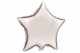 "Silver 18"" Star Foil Balloon"