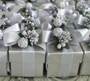 "Silver 2"" Favor Box Kit"