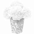 Silver Flower Centerpiece