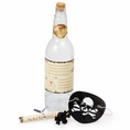 Skull and Crossbones Invitation in Bottle