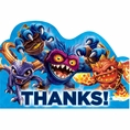Skylanders Thank You Notes