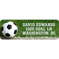 Soccer Custom Address Labels