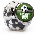 Soccer Custom Candy Jars