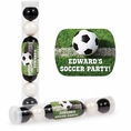 Soccer Custom Candy Tubes