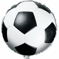 Soccer Metallic Balloon