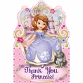 Sofia the First Postcard Thank Yous