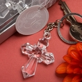 Sparklingly-Special Cross Design Key Chains