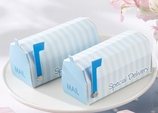 """""""Special Delivery"""" Blue Mailbox Favor Boxes (Set of 24)"""