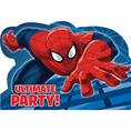 Spiderman Invitations