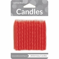 Spiral Red Birthday Candles
