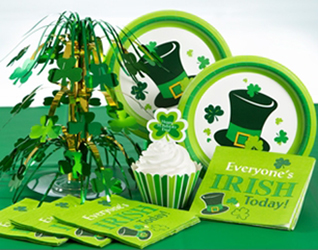 St. Pattys Party Supplies