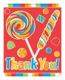 Sugar Buzz Thank You Notes