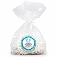 Sweet Feet Blue Baby Shower Custom Favor Bags