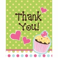 Sweet Treats Thank You Cards