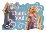 Tangled Postcard Thank You