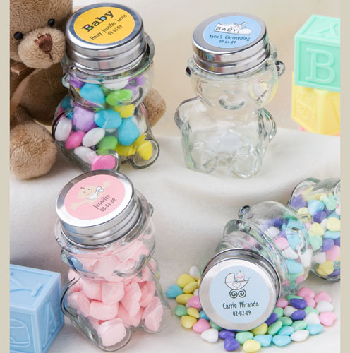 Teddy Bear Jars