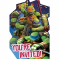 Teenage Mutant Ninja Turtles Invitations