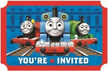 Thomas The Tank Party Invitation