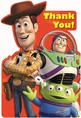 Toy Story 3 Postcard Thank You