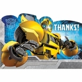 Transformers Thank You Notes