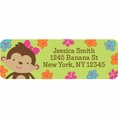 Tropical Monkey Custom Address Labels