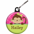 Tropical Monkey Custom Zipper Pull