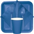 True Blue Party Tableware