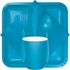 Turquoise Party Tableware