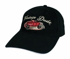 Vintage Dude Cap Car