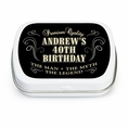 Vintage Dude Custom Birthday Mint Tins