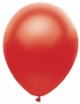 Satin Red Latex Balloon
