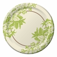 "Wedding Shower Wishes 10"" Plate - Plain"