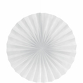 "White 16"" Tissue Fan"